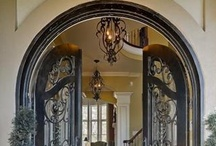 Front doors - French Country & Traditional  / by French Country Renovation