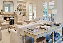 Family Living Room - French country / by French Country Renovation