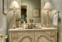 Powder Room - French Country / by French Country Renovation