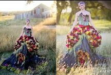 Marie Antoinette Flower Dress / Andy Sams Photography