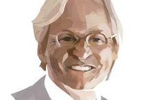 Portrait / Portrait illustrations by Mark Boardman