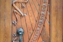 Architectural doors and entry ways / Cool details and designs