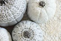 Pumpkins / decorated pumpkins