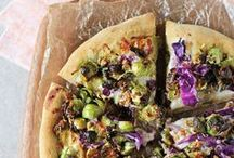PIZZA / Recipes for pizza. Vegan pizzas included!