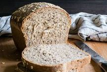 BREADS | MUFFINS / Recipes for breads, muffins, dinner rolls, etc using mostly whole grains, nuts and seeds.