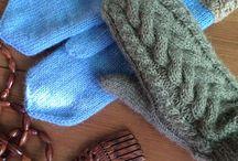 Митенки и варежки @flaushknit / Подробнее: www.livemaster.ru/your-gift-shop