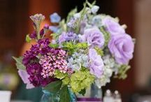 Purely Purple / Wedding floral in different shades of purple.