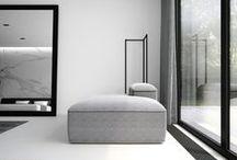 MINIMALIST | EXTRAVAGAUZA INTERIOR / Extravagauza Interiors | Contemporary minimalist interior bedroom design black and white. www.extravagauza.... #interiordesign #minimalist #white #bedroom #minimalistinterior #interiordesigner #interiorinspirations #lema #grey #white #marble