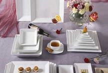 Serveware  / Platters, service bowls and other serveware