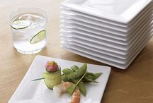 Tableware  / Plates, bowls and glassware