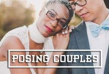 Posing Couples / A collection of editorial, magazine-worthy, candid and photojournalistic wedding and engagement poses for madly-in-love couples.