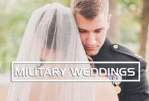 Vintage Chic Military Wedding
