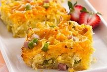 Cheddar for Breakfast! / Go beyond just putting Cheddar in an omelet. Cover it in syrup, put it on a pizza, make it muffin-sized … the possibilities are endless. Look below for inspiration.