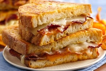 Grilled Cheese / This Midwestern classic has comfort written all over it. It's a cheesy, gooey and crispy sandwich that is a delicious platform for any cheese, yet so versatile that it compliments any other ingredient. How many things will you add?