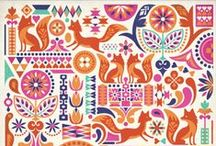 Crafty - Patterns and Prints / by Emily Davis