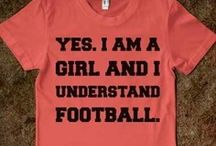 Football  / It's not just for big burly men.