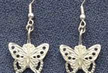 Earrings / Three Feathers Pewter - #Earrings - 12 East Jackson Street #Millersburg, #Ohio 44654-1214 Phone 330-674-0404 www.threefeatherspewter.com