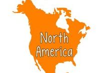 North American Geography/History / preschool theme for 3-6 year olds