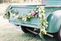 Wedding Pickup Trucks