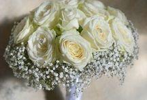 Bouquet de Mariée Blanc - White Bride Bouquet