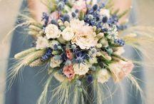 Bouquet de Mariée Bleu - Blue Bride Bouquet