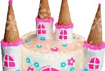 Princess & Castle Cakes / This board has some ideas for princess, fairy and castle cakes along with crown and wand cakes.