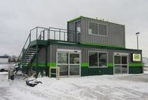 Shipping Container Creations / Awesome homes, stores, etc. built from shipping containers!