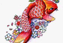 Coi fish / Japanise