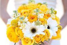 Bouquet de Mariée Jaune - Yellow Bride Bouquet