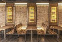 La Parrilla, El Saler by B+P / Architecture & Interior Design by Barea+Partners. Bar & Grill, Restaurant in a mall.
