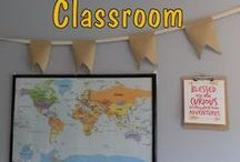 our homeschool classroom / We're HOMESCHOOLERS so the world is our classroom.