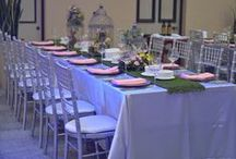 Easter Theme Dinner / A traditional Easter themed event.   Florals by Always Fabulous Flowers