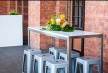 Wedding Showcase - Old Museum '16 Area 2 / Cocktail Area and entrance   Verandah at Old Museum  Flowers by Always Fabulous Flowers Photos by KD Media