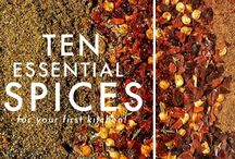 Herbs, Marinades, Seasonings and Spices / All things which build flavor