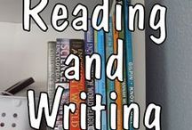 reading/writing / Resources and printables for teaching reading, writing, and spelling to homeschoolers