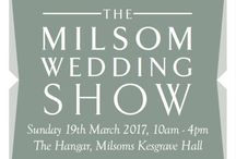   The Milsom Wedding Show / Please see the link to stay up to date with announcements on what treats we have up our sleeves for The Milsom Wedding Show - https://www.milsomweddings.com/wedding-show/