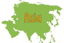Asian Geography/History / Ideas and Resources for teaching Asian geography to homeschoolers.