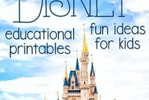 Disney Educational Printables and Fun Ideas for Kids / Everybody has a board for a Disney Vacation but what about all the other times?  This board is all about bringing Disney Magic to every minute of your life.  The main focus is on kids, crafts, printables, DIYs, education, etc.  Follow this board for new content from some of the best bloggers on the web!