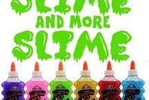 Slime and More Slime / We love slime!  We love making it!  We love to play with it!  This board is all about slime, slime, and more slime!  Inspiration.  Recipes.  Free printables.  Child's Play.