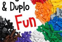 Lego and Duplo Fun / We love Duplo and Lego brand toys.  They inspire creativity, engineering, imagination, and learning.  This is the board to find crafts, printables, DIYs, and educational fun with America's favorite bricks.