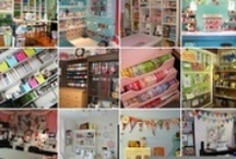 ( Craft Rooms ) / DIY Craft Rooms ~ Looking for crafty ways to organize your craft supplies? Check out this roundup of fabulously organized craft rooms and get inspired to design your own.  ~ DIY Group Board ~ If You Want To Join A Board, Please Mention In The (ADD A COMMENT) Section of Any (Add Me!) Pins On The First (ADD ME BOARD) Which Board(s) You Want To Join (Up-To 25 Boards) And I Will Do The Rest. Invite your friends to Pin along. Please Pin What Is Appropriate For That Board. No Spam, No $ Signs.