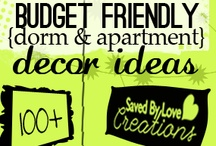 ( Budget Friendly ) / Budget Friendly Diy - Invest your time and energy -- not money -- to create a beautiful home. These project ideas and info will get you started. Budget Friendly Inexpensive Diy Projects, Decorating, Gift Ideas, Home Decor, Mothers Day Gifts...more