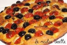 Pane pizza torte salate / Focaccia