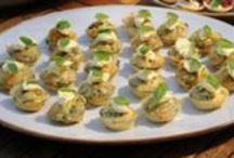 Canapes and cocktail food / Recipes for canapes and finger food perfect for your next cocktail party