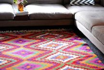 A rug to step on
