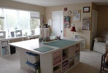 Sewing Room Ideas & Storage