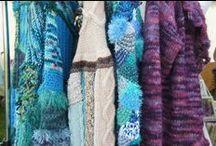 Yarn & Felting Fever / Fibre art - yarn and fibre creations