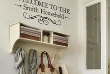 Home Sweet Home. / Ideas and things I want for our first family home.