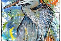 Birds of Fine Feather / Real and imaginary birds portrayed in any medium