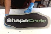 Concrete Signs - made with ShapeCrete